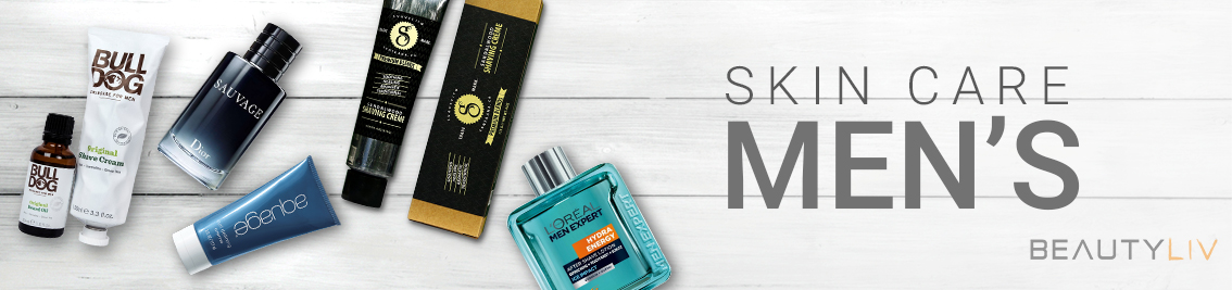 SKIN CARE, MEN'S, Aftershave banner