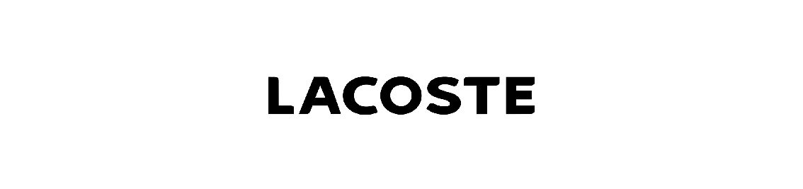 Shop by brand Lacoste