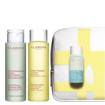 Clarins - My First Beauty Step Cleansing Face & Eyes Set