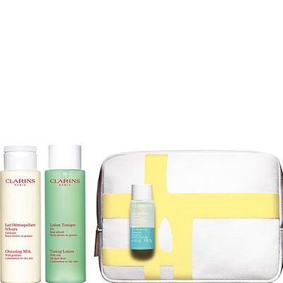 Clarins - My First Beauty Step Cleansing Face and Eyes Set