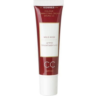 Korres - Wild Rose CC Colour Correcting Cream