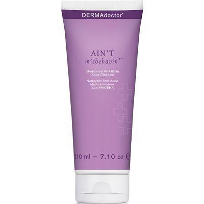 Dermadoctor - Ain't Misbehavin' Medicated AHA/BHA Acne Cleanser