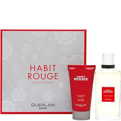 Guerlain - Habit Rouge Eau de Toilette Gift Set