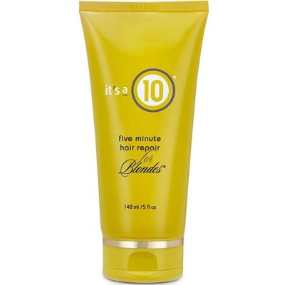 It's A 10 - Five Minute Hair Repair For Blondes