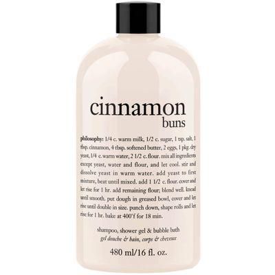 Philosophy - Cinnamon Buns Shampoo Shower Gel & Bubble Bath
