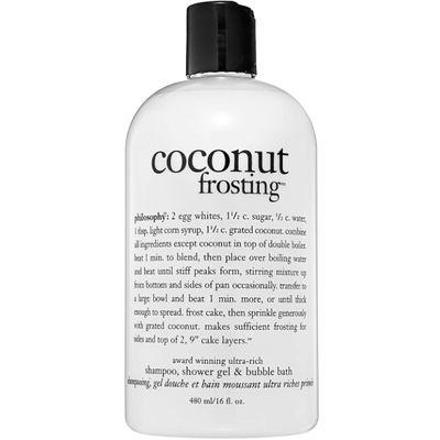 Philosophy - Coconut Frosting Shampoo Shower Gel & Bubble Bath